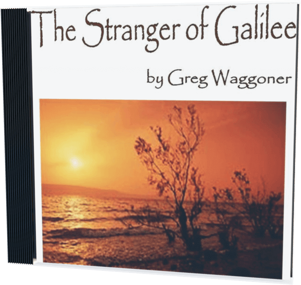The Stranger of Galilee cd cover
